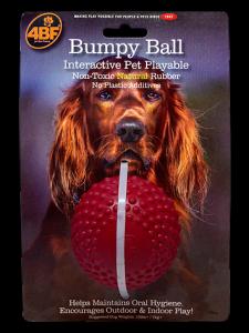 BUMPY BALL ROJO